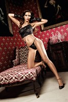 Комплект бикини из черного роскошного кружева Dolce Vita - фото 212644