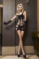 Платье с разрезами и открытой попкой - фото 523617