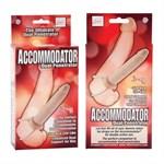 Телесная насадка на пенис Accommodator Dual Penetrators  - фото 8369