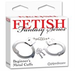 "Металлические наручники Beginner""s Metal Cuffs - фото 8414"