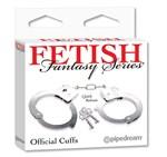 Наручники с ключами Official Handcuffs - фото 8440