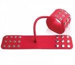 Силиконовые наручники SILICONE CUFFS RED - фото 134200