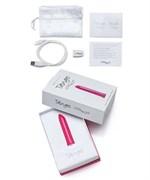 Розовый мини-вибратор Tango Pink USB rechargeable - фото 134269