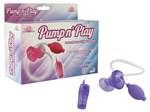 Фиолетовая помпа с вибрацией Pumpn - фото 9121