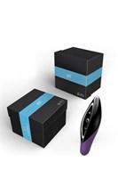 Фиолетовый с черным вибромассажер ZINI SEED  - фото 214796