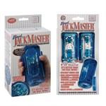 Гелевый голубой супер-мастурбатор Travel JackMaster - фото 209508