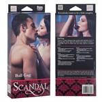Кляп Scandal Ball Gag с атласными лентами - фото 8710