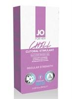 Возбуждающий гель мягкого действия JO CLITORAL CHILL - 10 мл. - фото 9680