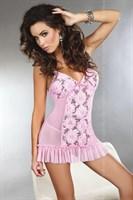 Сорочка Gina с пышными цветами и пайетками - фото 215919