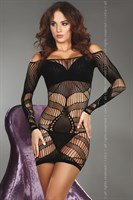 Эротическое платье Trifine с полосками и крупными каплями - фото 215924