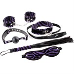 Набор для бондажа Animal Instinct 5-Piece Bondage Kit - фото 526722