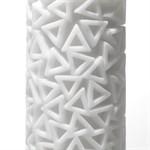 Белый 3D мастурбатор PILE - фото 1146089