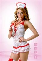 Кружевной костюм медсестры - фото 210066