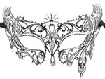 Венецианская маска Diana - фото 127884
