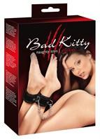 Чёрные оковы для лодыжек Bad Kitty - фото 1146268