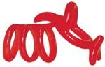 Красная рельефная насадка на пенис Funny Kangaroo - фото 210119
