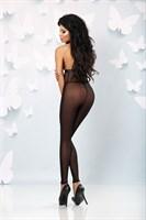 Сексуальный полупрозрачный комбинезон с открытой спиной Flash - фото 1185038