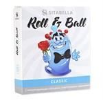 стимулирующий презерватив-насадка Roll   Ball Classic - фото 249981