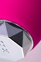 Розовый вибратор с клиторальным стимулятором L EROINA - 17 см. - фото 42939