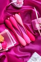 Набор из 6 розовых вагинальных шариков Eromantica K-ROSE - фото 250804