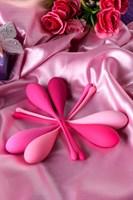 Набор из 6 розовых вагинальных шариков Eromantica K-ROSE - фото 250806