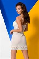 Полупрозрачная сорочка с оборками на лифе Ariel - фото 1562348