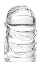 Стеклянный прозрачный фаллоимитатор Sexus Glass - 21 см. - фото 226470