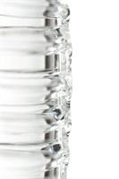 Стеклянный прозрачный фаллоимитатор Sexus Glass - 21 см. - фото 226471