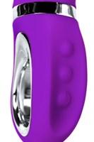 Фиолетовый вибратор PILO с wow-режимом - 20 см. - фото 1221253