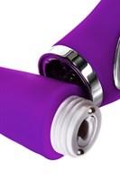 Фиолетовый вибратор PILO с wow-режимом - 20 см. - фото 1221254