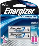 Батарейки Energizer Ultimate Lithium FR6/L91 AA - 2 шт. - фото 63341