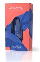 Синий бесконтактный клиторальный стимулятор Womanizer Starlet 2 - фото 679786
