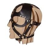 Кожаная маска-шлем  Лектор  - фото 1693562