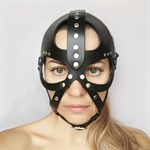 Кожаная маска-шлем  Лектор  - фото 1693561