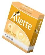 Презервативы Arlette Dotted с точечной текстурой - 3 шт. - фото 48943