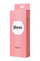Розовый силиконовый массажер для лица Yovee Gummy Peach - фото 1694075