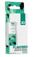 Стимулирующий клиторальный гель со вкусом мятного шоколада JO Mint Chip Chill - 10 мл. - фото 49878