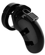 Черный мужской пояс верности Model 01 Chastity - фото 550678