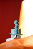 Мятная анальная вибровтулка Bland - 12 см. - фото 53867