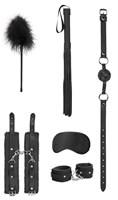 Черный игровой набор Beginners Bondage Kit - фото 57057