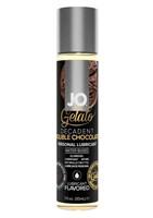 Лубрикант с ароматом шоколада JO GELATO DECADENT DOUBLE CHOCOLATE - 30 мл. - фото 260790