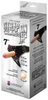 Пояс-трусики с насадкой Classic lux-Duke - 17,5 см. - фото 67090