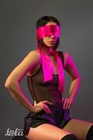 Розовая лента для связывания Wink - 152 см. - фото 68072