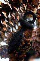 Черная анальная пробка Strob S - 11,7 см. - фото 95162