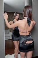 Черное мини платье Adelis - фото 1146663