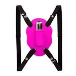 Нежный вибростимулятор для клитора Love Rider на ремешках - фото 9571