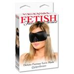 Маска на глаза из неопрена Deluxe Fantasy Love Mask - фото 1195089