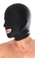 Маска на лицо с прорезью для рта - фото 9692