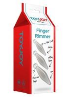 Набор из трех анальных втулок Finger Rimmer - фото 1146944