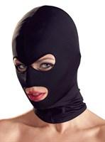 Шапка-маска чёрного цвета - фото 1651316